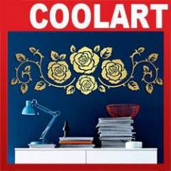 COOLART Duvar Sticker G�l (st380)