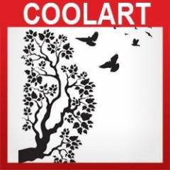 COOLART Duvar Sticker A�a� ve Ku�lar (st141)