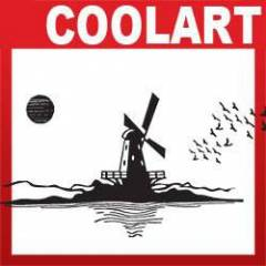 COOLART Duvar Sticker De�irmen  (st362)
