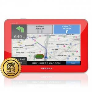 Piranha Infiniti HD Red 5 in� GPS Navigasyon Sis