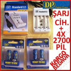 4X2700mAh RTU (Ready To Use)+�ARJ C�HAZI + KARGO