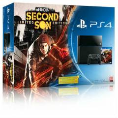 SONY PLAYSTATiON 4 PS4 + 2. DUALSHOCK + inFAMOUS