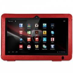 Piranha 10.1 in� tablet k�l�f K�rm�z� Deri K�l�f