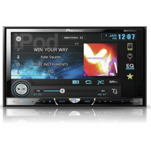 Pioneer avh-x5500bt bluetooth multimedya double