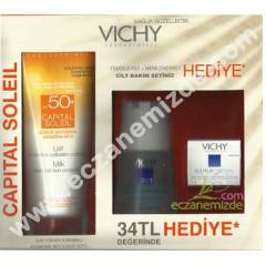 Vichy Capital Soleil Spf 50+ Sun Milk 300 ml / A