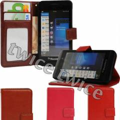 Blackberry Z10 KILIF C�ZDAN STANDLI L�X LEATHER
