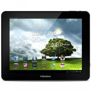 Piranha Quattro Tab 9.7 in� 3G Android Tablet PC