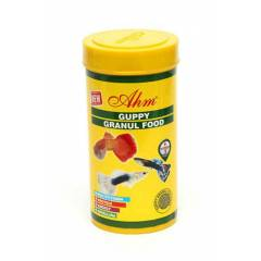 Ahm Guppy Granul Food 250 ml Lepistes T�r� ��in