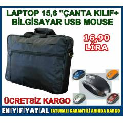 LAPTOP NOTEBOOK �ANTASI 15.6 �N�  PC MOUSE MAUS
