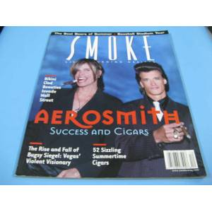 SMOKE AEROSMITH SUCCESS AND CIGARS