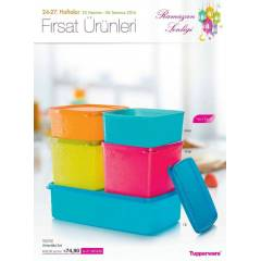 TUPPERWARE  RENKL� ANTART�KA SET