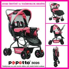 PAPETTO 3026 BEBEK ARABASI S�PER �ND�R�M