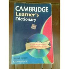 CAMBRIDGE LEARNER'S DICTIONARY 2005/KARGO B�ZDEN
