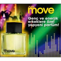 AVON JUST MOVE EDT 75 ML Erkek Parf�m KARGOSUZ