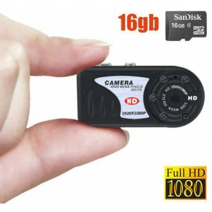 16gb Full HD Gece G�r��l� DVR Kamera HemenTeslim