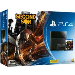 SONY PS4 500 GB + INFAMOUS SECOND SON + EURASIA