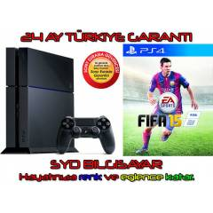 SONY PS4 500 GB + F�FA 2015 + 24 AY EURASIA
