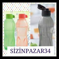 TUPPERWARE ���E SULUK 3 L� 1LT-2-500 ML KARGOSUZ