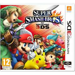 SUPER SMASH BROS 3DS NiNTENDO PAL SIFIR STOKTA