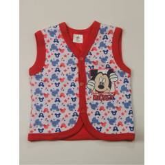 DISNEY MICKEY MOUSE KIRMIZI YELEK