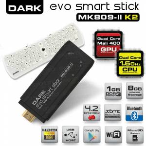 Dark Evo Smart Stick MK809-IIKB And 4.2 Mini PC