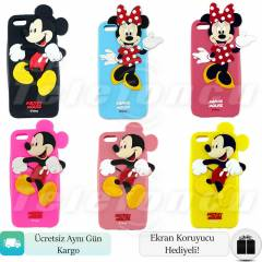 iPhone 5S K�l�f Mickey Minnie Mouse