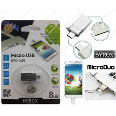 Syrox MicroDuo 8GB Micro Usb Flash Bellek