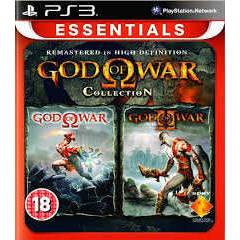 GOD OF WAR COLLECTION Ps3 oyun