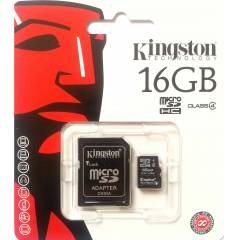 K�NGSTON 16 GB MICRO SD4 HAFIZA KARTI