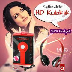 MP3 �alar ve Headphone Katlanabilir HD Kulakl�k