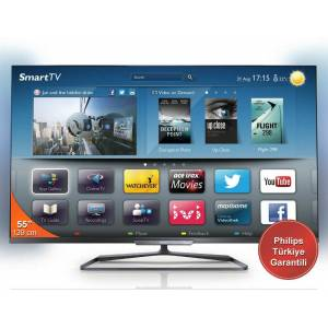 PHILIPS 55PFL6198K/12 DVB-S FULL HD 3D LED