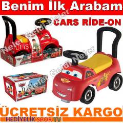 Benim �lk Arabam Cars Ride-On Orjinal �r�n