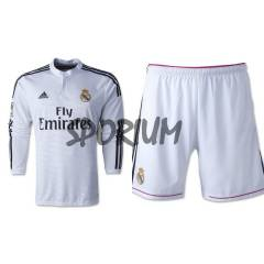 2015 Real Madrid Uzun Kollu FORMA ve �ORT Home