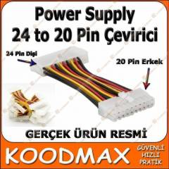 24 Pin 20 Pin ATX Power Di�i Erkek D�n��t�r�c�