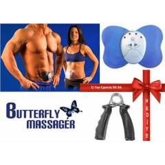 Butterfly ABS Massager Kar�n Kas� Mas�r� +HED�YE
