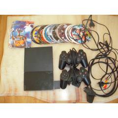 Sony Playstation 2 Slim+�ipli+8mb Kart+2kol+Oyun