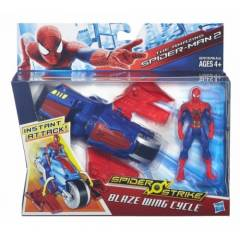 Spiderman Ara� ve Fig�r Blaze Wing Cycle