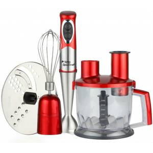 King P996R Gourmet Rondo Blender Komple Set 700W