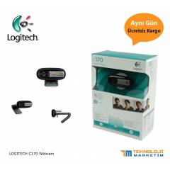 Logitech C170 Webcam Bilgisayar Kameras� 5 MP