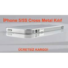 �Phone 5/5S KILIF CROSS 0.7MM METAL KAPAK +2K