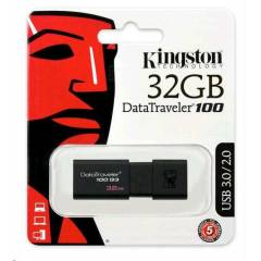 KiNGSTON 32GB DT100G3/32GB USB 3.0 BELLEK