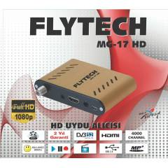 Flytech MG-17 Full Hd Mini Uydu Al�c�.3D Uyumlu