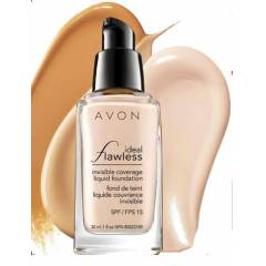 AVON �DEAL FLAWLESS L�K�T FOND�TEN SPF15  30ML