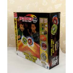Beyblade Metal Fury Hyper-Strike Battle Set