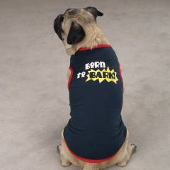 K�pek K�yafeti Giysisi Born To Bark T-Shirt