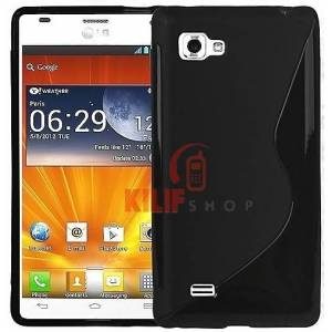 LG Optimus 4X HD P880 Sline TPU K�l�f + 3 Film