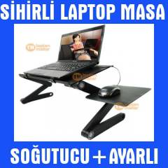Notebook Laptop So�utucu Sehpas� Stand� Masa 007