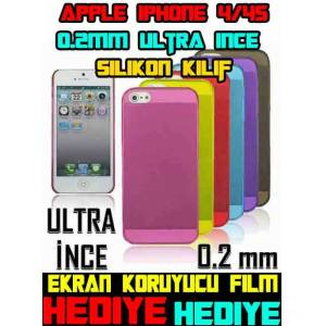 HAYALET K�l�f -0.2mm- Apple Phone 4 i�in(8,99TL)