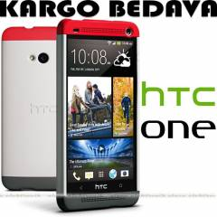 HTC ONE M7 DOUBLE DIP HARD SHELL CASE KILIF