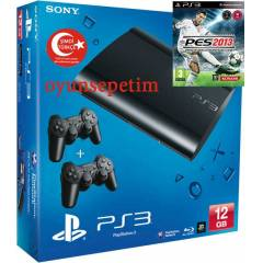 Sony Playstation 3 12gb -Ps3 12gb+pes2013+2.kol